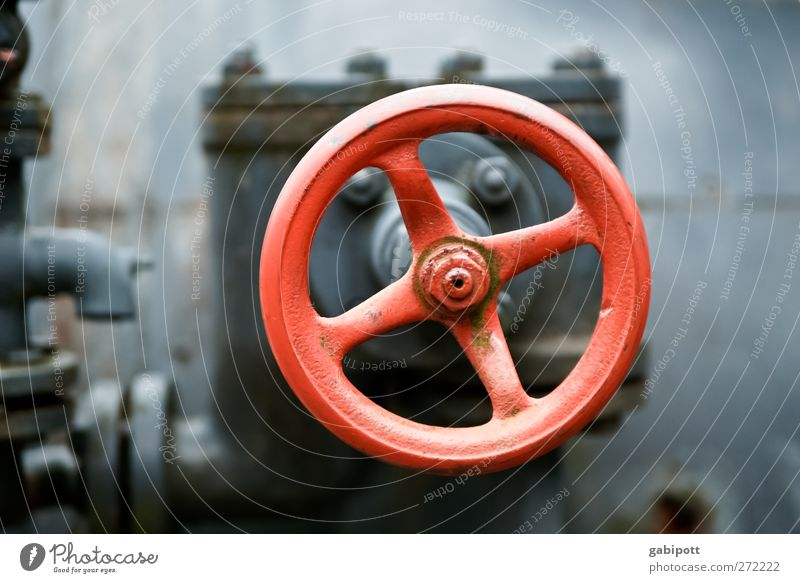 Old Red Future Industry Retro Round Technology Industrial Photography Science & Research Steel Wheel Rotate Iron-pipe Machinery Hard Advancement