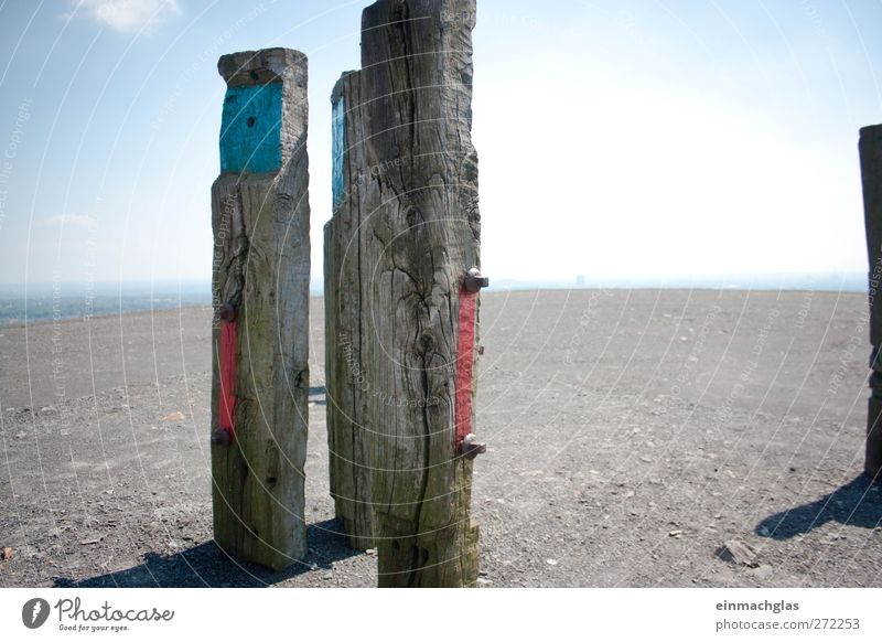 Sky Blue White Red Summer Far-off places Landscape Freedom Stone Earth Art Horizon Hiking Adventure Safety