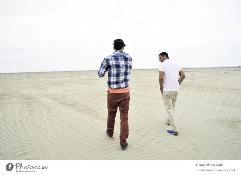 desert march 2 Human being Contact Desert Sand Ocean Beach To go for a walk Dialog partner Willingness to talk Language Fashion Horizon Far-off places Advance