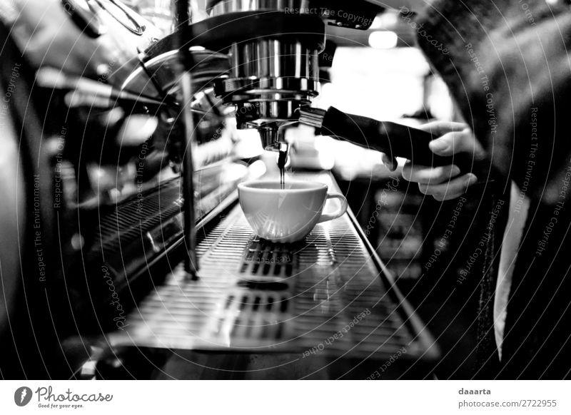 morning coffee 14 Beverage Hot drink Hot Chocolate Coffee Latte macchiato Espresso Mug Coffee break Coffee maker Café Cafeteria Lifestyle Elegant Style Joy