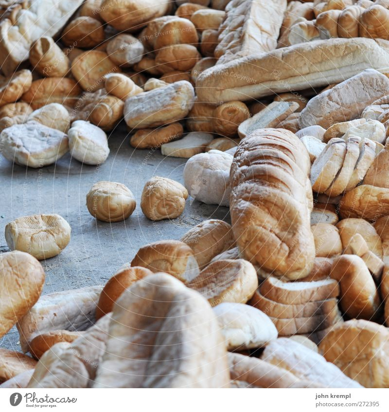Old Brown Food Nutrition Dry Appetite Delicious Bread Roll Vegetarian diet To dry up Squander Lack of inhibition Baked goods Debauchery Throw away
