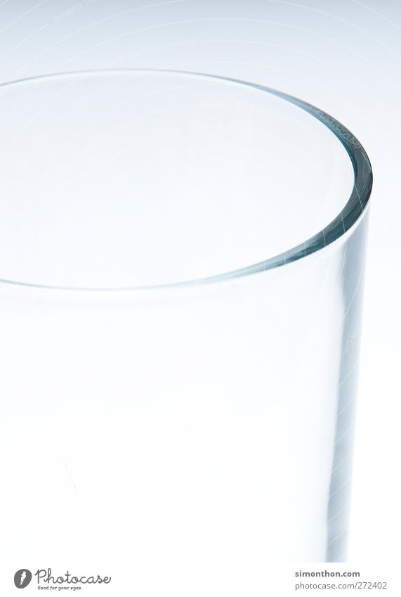 Glass Drinking water Poverty Empty Beverage Thirst Thrifty Half full