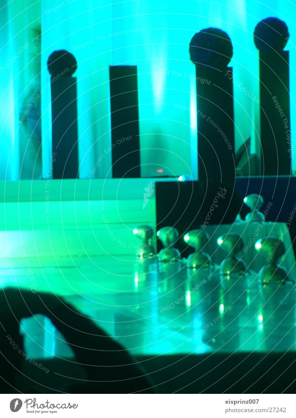 catwalk with contrast Catwalk Stage Decoration Long exposure