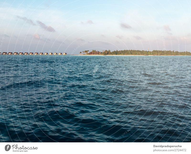 Maldives island luxury resort Vacation & Travel Lagoon Island Idyll Luxury scenery Coast Tropical Paradise Exotic Reef Vantage point Atoll Indian Ocean