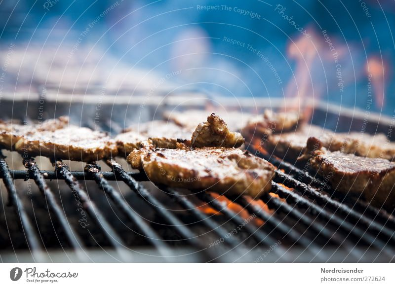 How's the barbecue weather? Food Meat Nutrition Smoke Fragrance Juicy Gluttony Steak Roast joint Grill Barbecue (apparatus) Barbecue (event) Charcoal (cooking)
