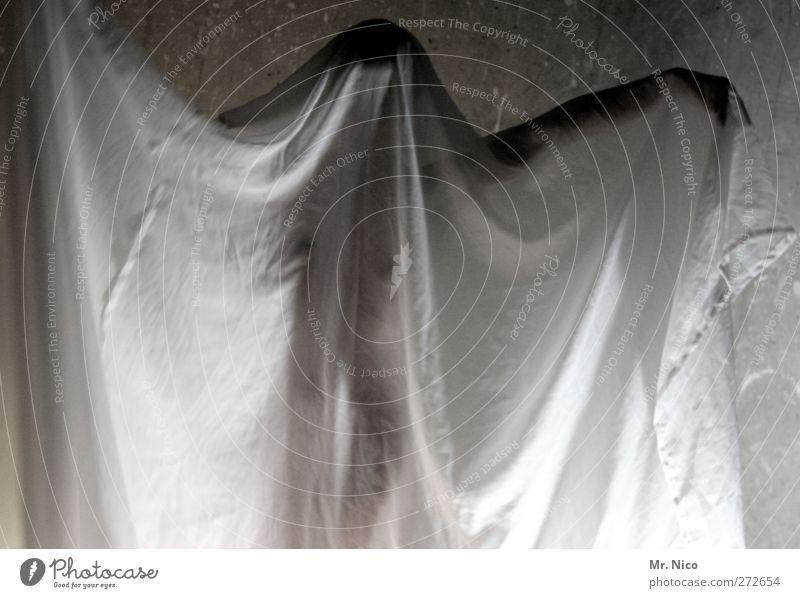 Feminine Eroticism Body Skin Cloth Curiosity Thin Chest Tilt Hide Drape Trashy Transparent Ghosts & Spectres  Anonymous Rag