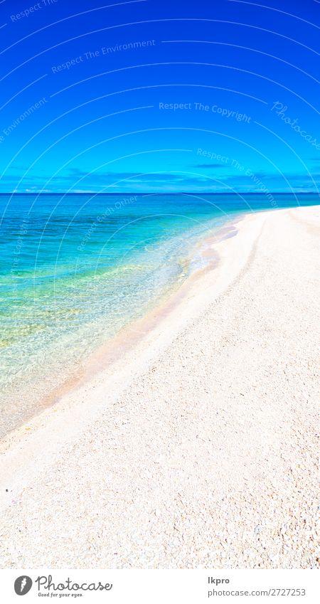 of the coastline like paradise concept and relax Rangoon tiputa Ocean French Atoll polynesia Nature Island Pacific Ocean String of islands tuamotu Landscape