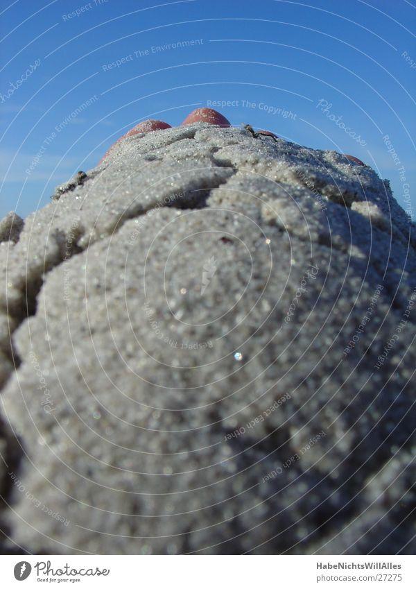 Hand Sky Sun Ocean Summer Beach Sand Baltic Sea Crack & Rip & Tear Platform