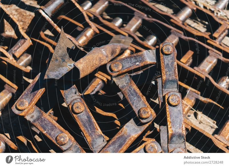 Rusty pieces of mechanism Background picture Consistency Metal Mechanism Steel Industry Old Construction Engineering Machinery screws Screw Industrial Workshop