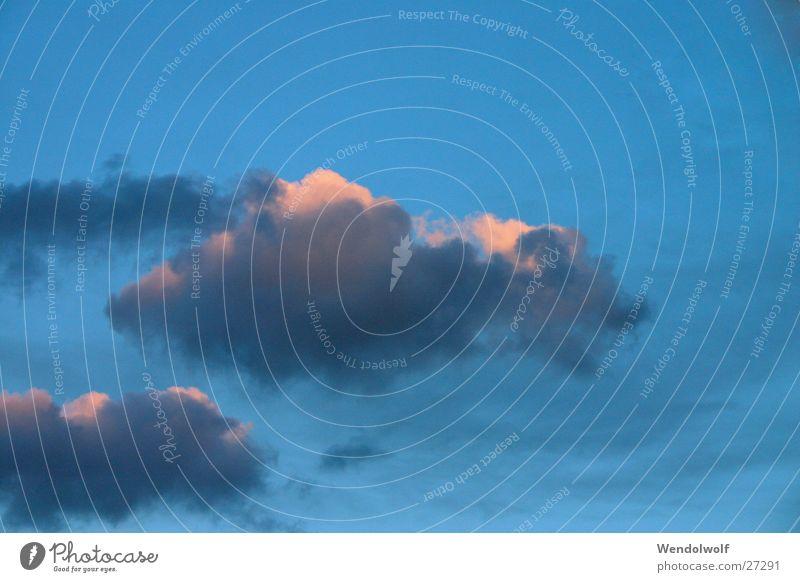 cloud sheep Clouds Sky Dream Light Leisure and hobbies Blue Colour
