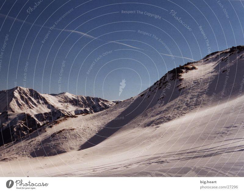 Sky Sun Winter Clouds Snow Mountain Alps