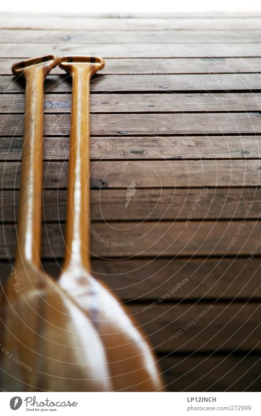 Wood Section of image Wooden floor Partially visible Object photography Paddle Oar