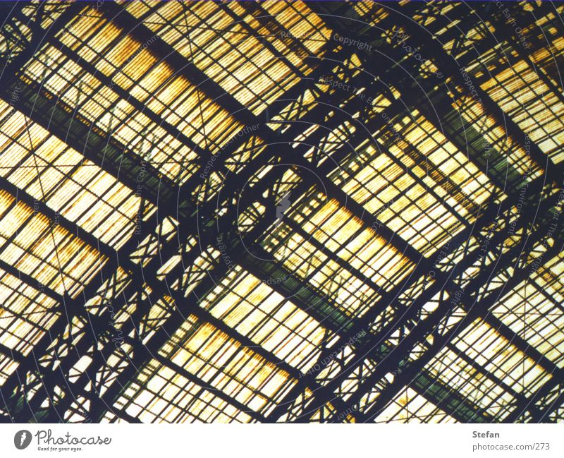 Architecture Glass Roof Firm Train station