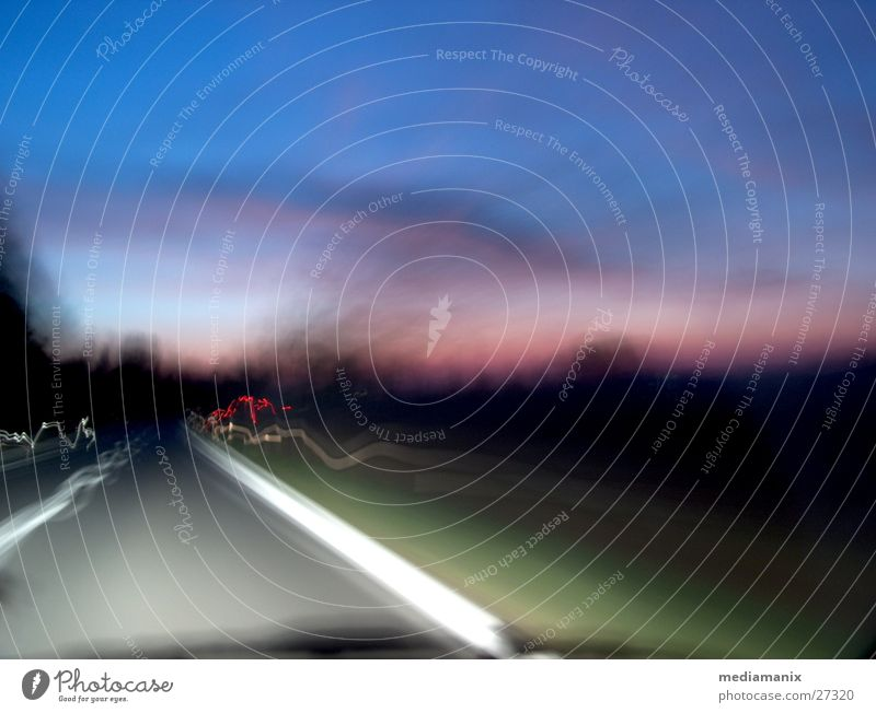 Road to nowhere Morning Art Transport Street Experimental Dawn
