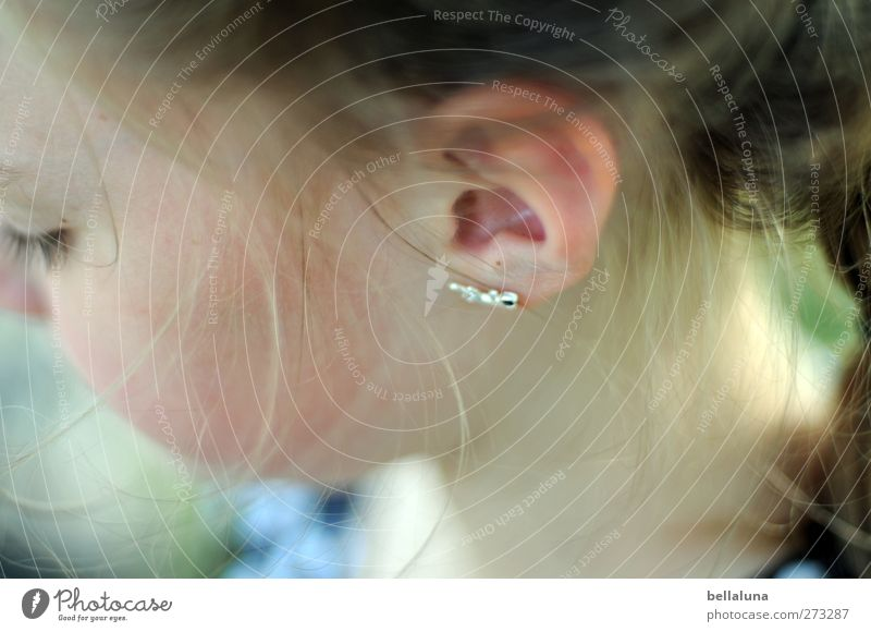 Hiddensee | Earring Human being Feminine Child Girl Infancy Life Head Eyes 1 8 - 13 years Simple Fresh Bright Beautiful Uniqueness Near Natural Positive Soft