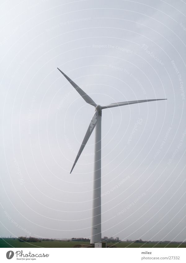 windmill Wind energy plant Rotate Industry Tall