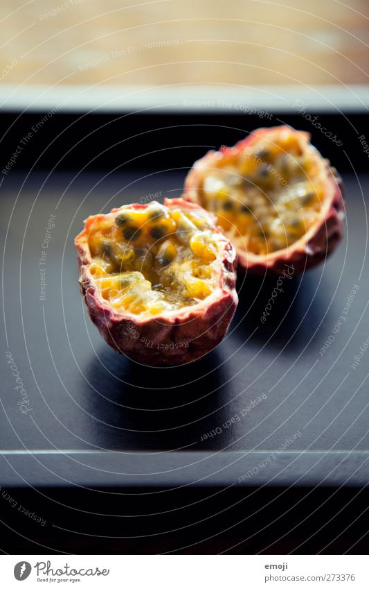 passion Fruit Candy Maracuja Nutrition Organic produce Vegetarian diet Exotic Delicious Sweet Fruity Colour photo Interior shot Close-up Deserted Copy Space top