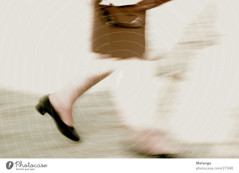 Woman Footwear Legs Going Walking Running Hunting