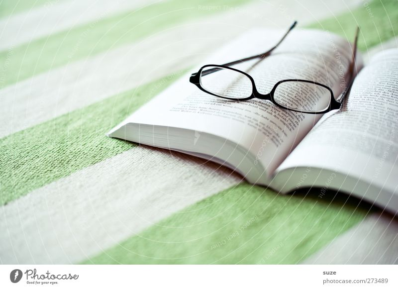 Calm Relaxation Bright Time Leisure and hobbies Book Table Living or residing Stripe Break Reading Eyeglasses Well-being Know Harmonious Blanket