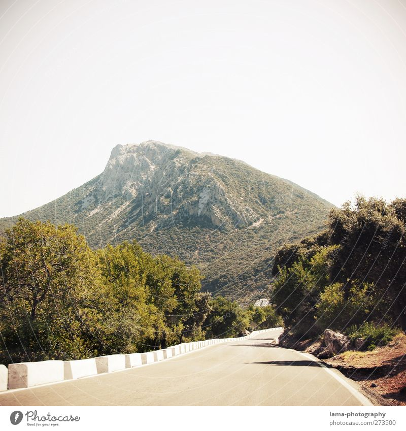 Sierra de Grazalema [LII] Nature Landscape Hill Rock Mountain Peak Pass National Park Ronda Andalucia Spain Street Overpass Winding road Adventure