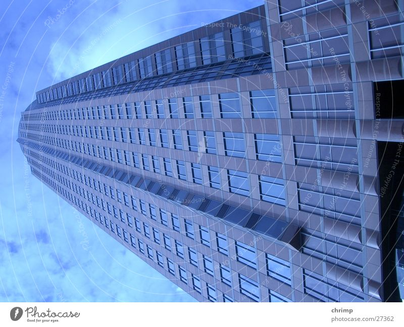 Maintower Frankfurt High-rise Window Architecture maintower Sky