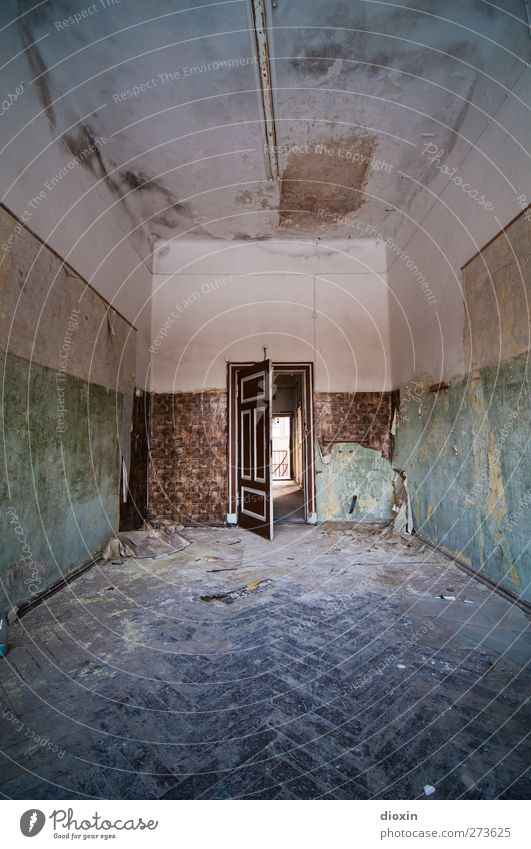 The Door of Perception Deserted House (Residential Structure) Manmade structures Building Architecture Sanitarium Hospital Wall (barrier) Wall (building) Room