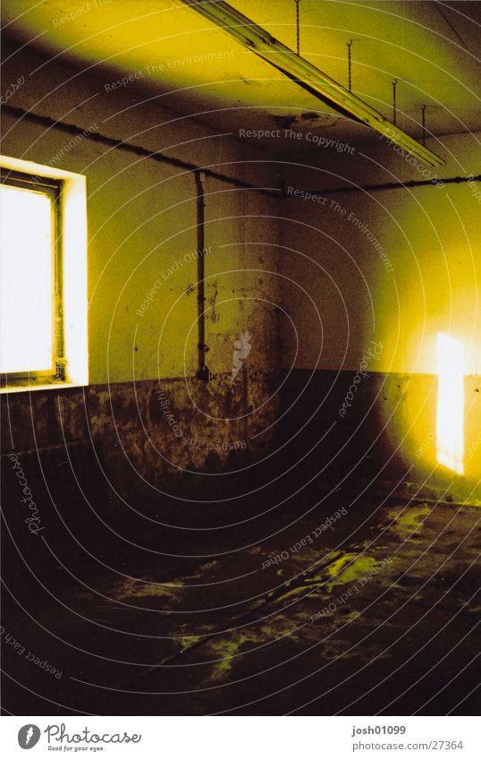 Loneliness Dark Room Architecture Empty Factory Warehouse Storage