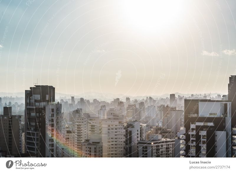 Buildings near Paulista Avenue, in Sao Paulo, Brazil (Brasil) House (Residential Structure) Office Business Environment Nature Sky Downtown Skyline High-rise