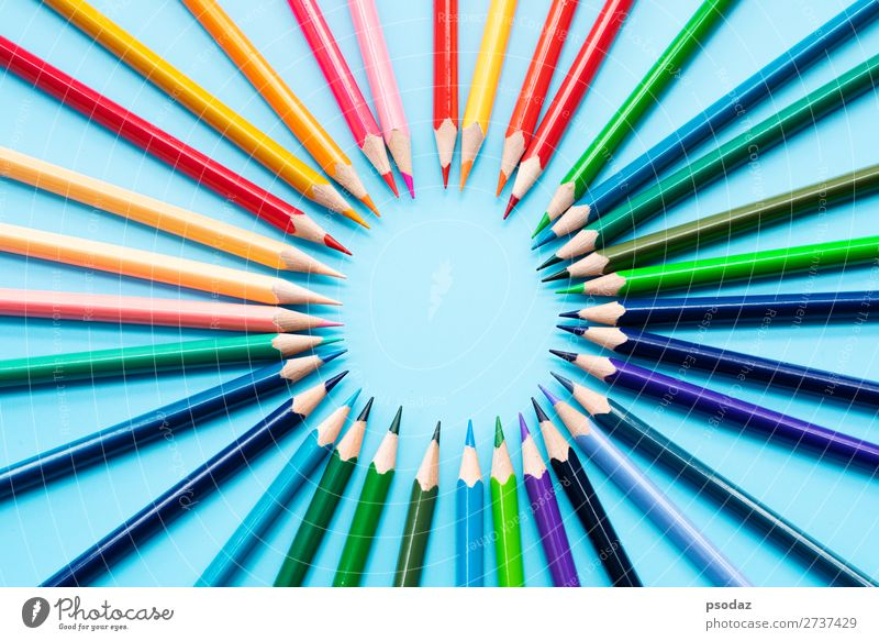 group of color pencils share idea to complete mission Success Industry Business Company Hand Jump Responsibility Wisdom Integrity Idea Inspiration Creativity