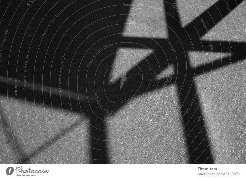 White Black Street Emotions Gray Line Esthetic Asphalt Geometry Unclear