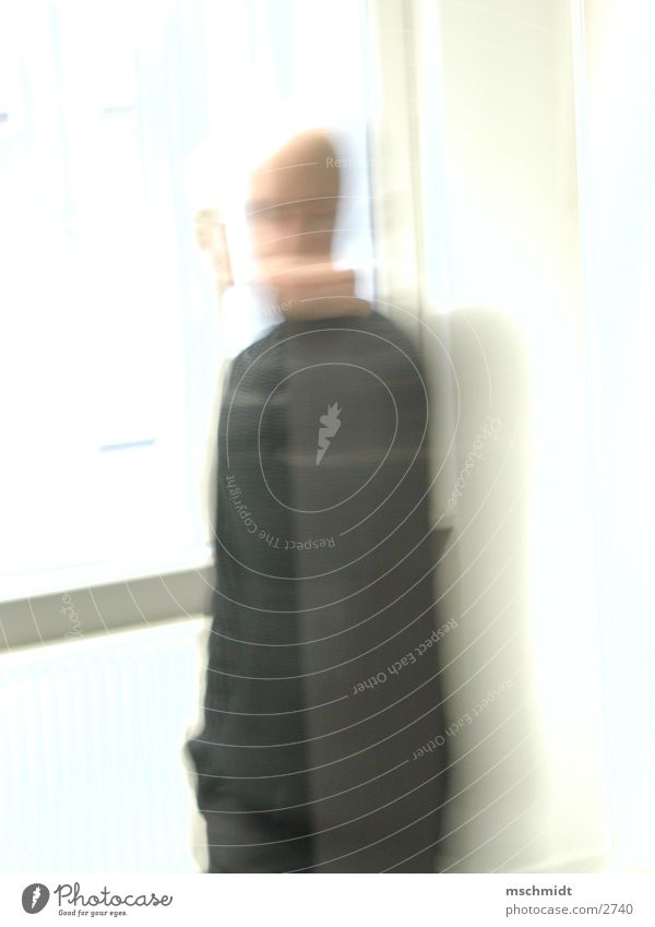 no mood Man White Light Long exposure Human being Bright Movement move