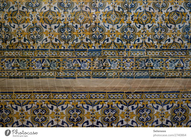 Architecture Wall (building) Building Wall (barrier) Facade Tile Ornament Portugal