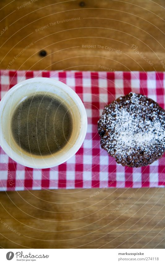 chocolate muffin with coffee black Food Dough Baked goods Candy Muffin Cupcake Sweet Confectioner`s sugar Chocolate Nutrition Breakfast To have a coffee