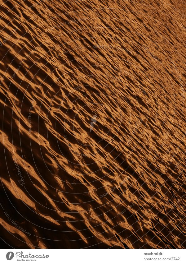 golden water Lake Ocean Waves Water Gold Sepia Colour
