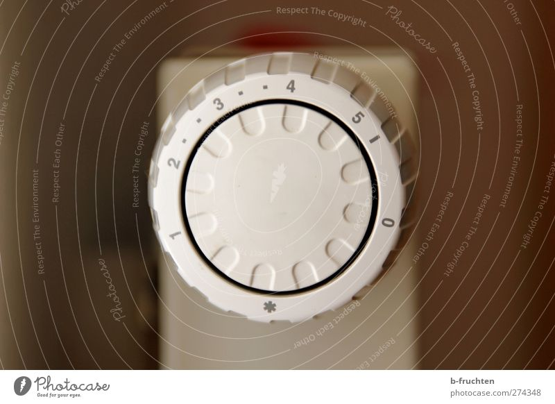 room temperature Thermometer Digits and numbers Round Brown Gray White Warm-heartedness Energy Cold Testing & Control Rotary knob Heater Heating