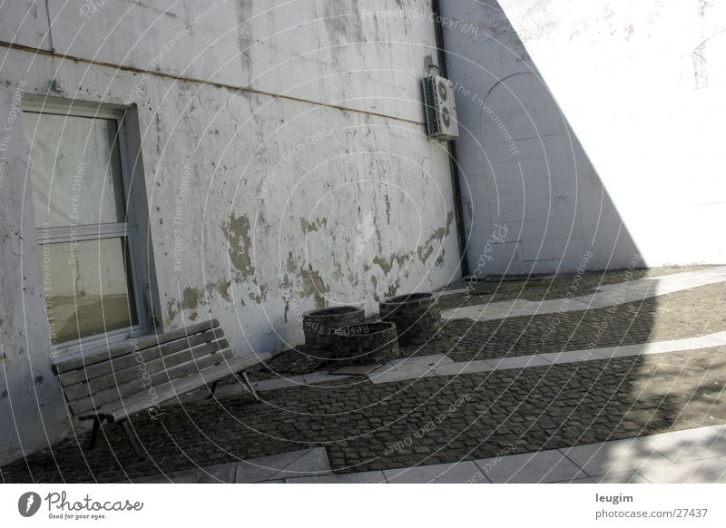 Desequilibrio Gray White Argentina Buenos Aires Window Wall (building) Architecture Crazy unbalanced recoleta Bench