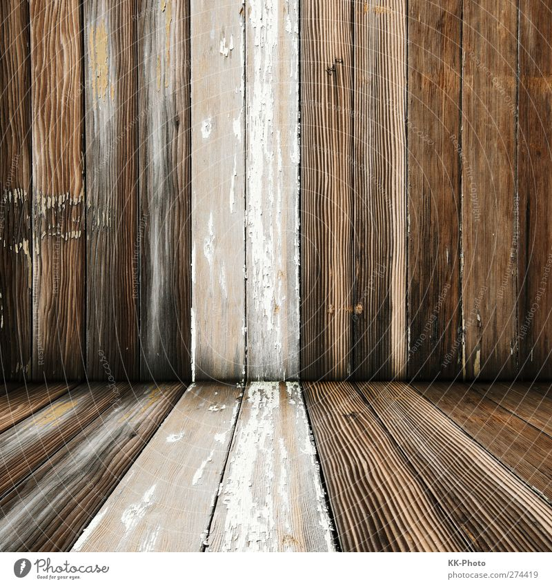 Nature Old White House (Residential Structure) Wall (building) Wood Wall (barrier) Style Interior design Brown Room Natural Dirty Decoration Living or residing