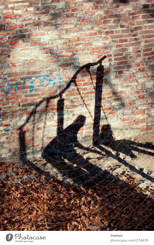 Help Playing To swing Swing Playground Human being Child Parents Adults Family & Relations Infancy Life Body Shadow Shadow play 2 Trust Safety Protection