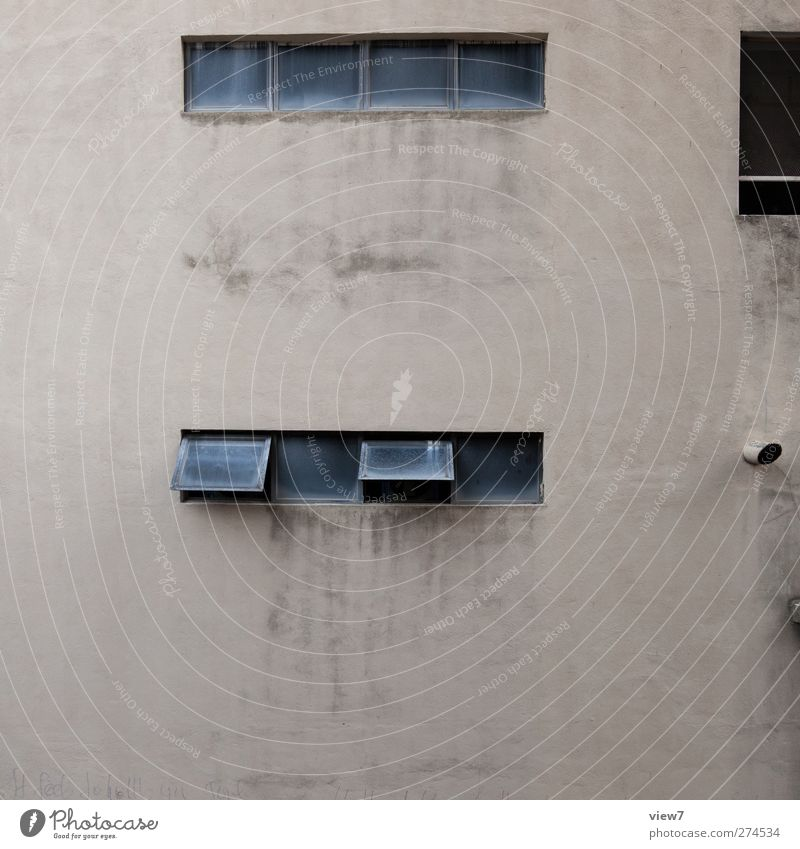 Old House (Residential Structure) Window Wall (building) Architecture Wall (barrier) Building Brown Facade Dirty Beginning Concrete Growth Authentic High-rise