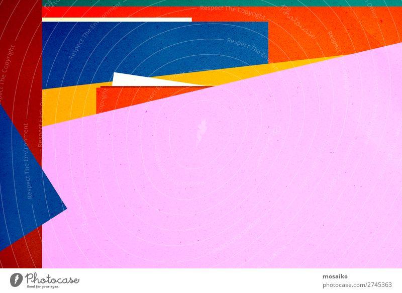 colourful paper texture - background design Elegant Style Design Decoration Wallpaper Education Kindergarten School Craft (trade) Art Culture Paper Rust Old
