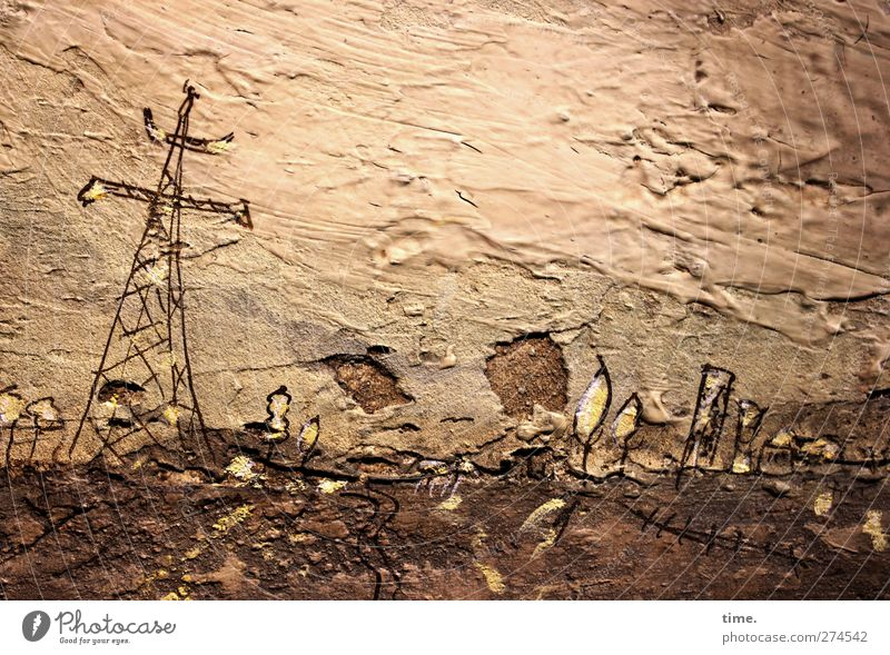 Raw material(s) (II) Technology Energy industry Art Work of art Painting and drawing (object) Culture Landscape Authentic Sharp-edged Original Rebellious