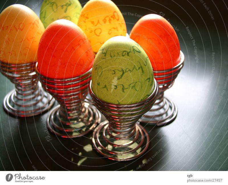Green Nutrition Yellow Colour Spring Orange Easter Egg Multicoloured Easter egg Egg cup