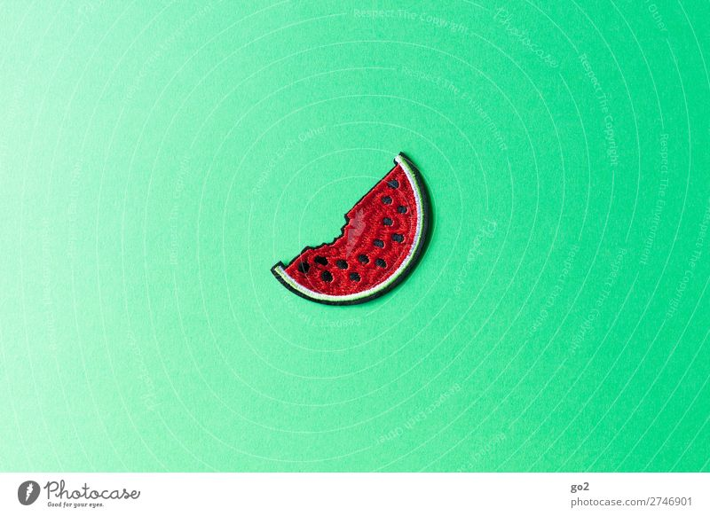 watermelon Food Fruit Water melon Melon Nutrition Organic produce Vegetarian diet Diet Fasting Healthy Eating Accessory Decoration Cloth Sign Fresh Delicious