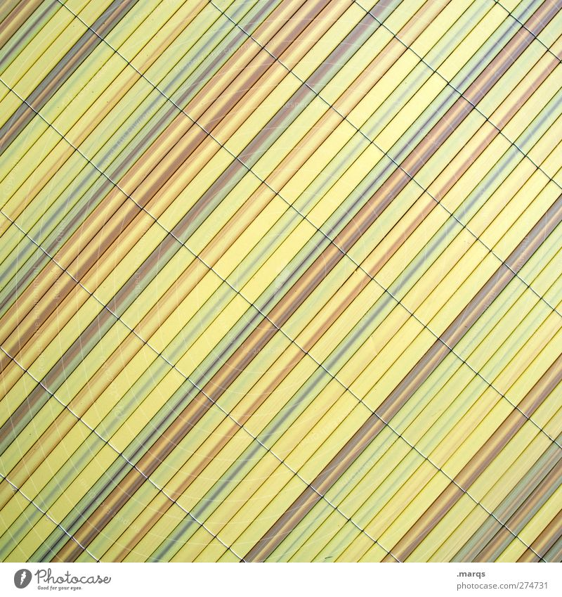 privacy screen Lifestyle Design Wall (barrier) Wall (building) Line Stripe Simple Hip & trendy Modern Beautiful Yellow Arrangement Background picture