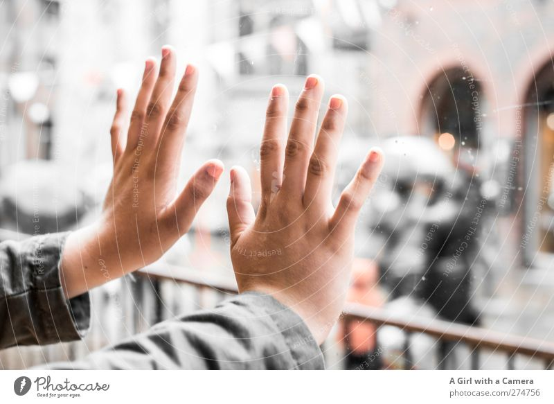 Human being Youth (Young adults) Hand Beautiful Feminine Young woman Exceptional Elegant Crazy Fingers Cool (slang) Uniqueness Touch Crowd of people Transparent