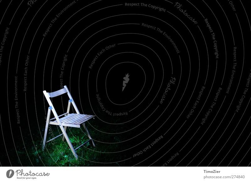 To understand a picture belongs a chair. Nature Earth Grass Sit Stand Wait Green Black Calm Design Style Chair Dark Visual spectacle Meadow Wood