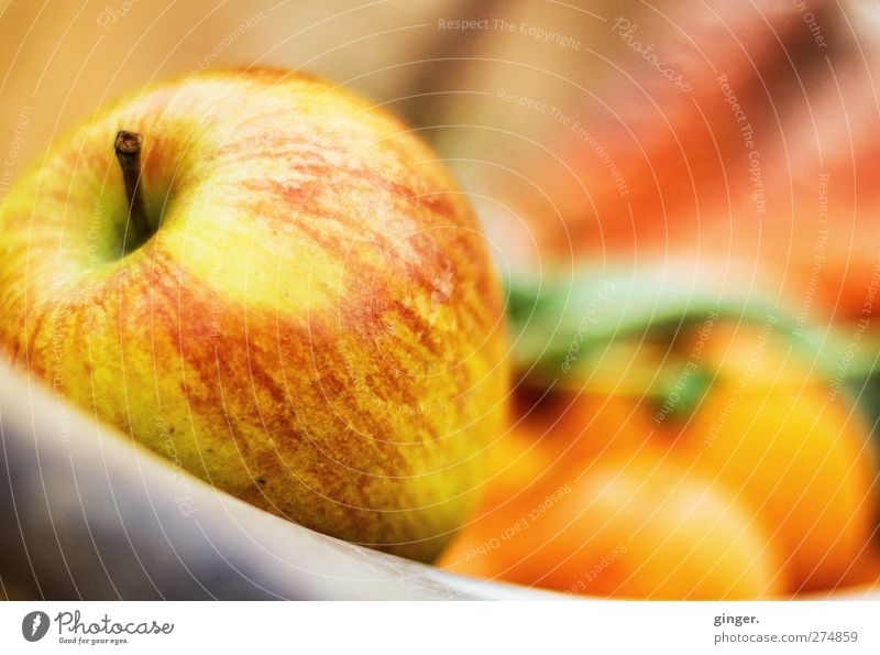 An apple a day Food Vegetable Fruit Apple Bowl Healthy Warmth Basket Pepper Nutrition Delicious Presentation Offer Lure Fresh Yellow Orange Red Mature