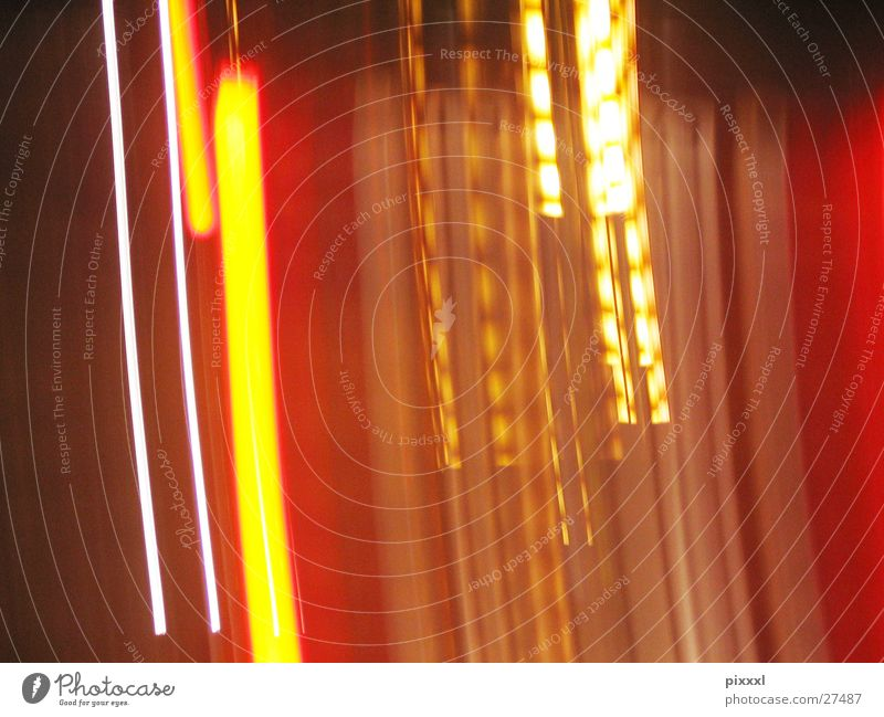play of lights Abstract Long exposure Background picture Brown Physics Vertical Night Red Multicoloured White Technology Orange Warmth Light sign blur