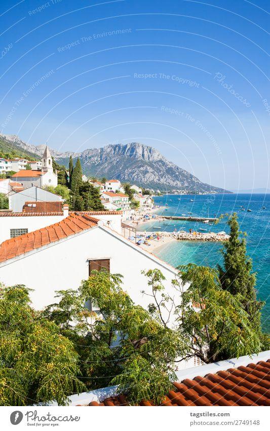 BRIST, CROATIA Adriatic Sea Bay Beach brist Coast Croatia Dalmatia Fishing village House (Residential Structure) Island Landscape Lifestyle Mediterranean sea