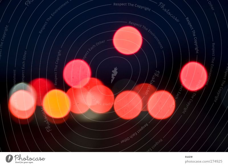 Red Dark Lighting Background picture Lamp Illuminate Transport Happiness Circle Round Sign Point Driving Motoring Point of light Night sky